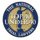 National Top 40 Under 40 Trial Lawyers Seal